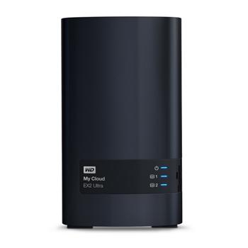 Western Digital NAS Server WD 6TB My Cloud EX2 Ultra WDBVBZ0060JCH-EESN