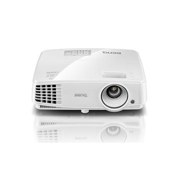 Benq MS527 videoproiettore 3300 ANSI lumen DLP SVGA (800x600) Compatibilità 3D Proiettore desktop Bianco