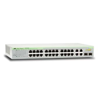 Allied Telesis AT-FS750/28-50 Gestito Fast Ethernet (10/100) 1U Grigio