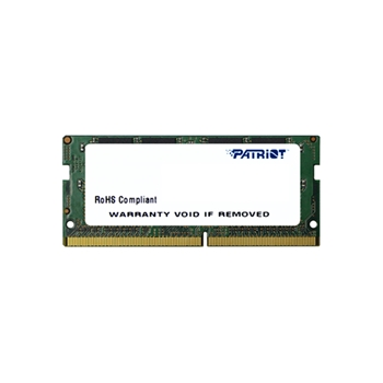 PATRIOT DDR4 SL 4GB 2133MHZ SODIMM 1x4GB