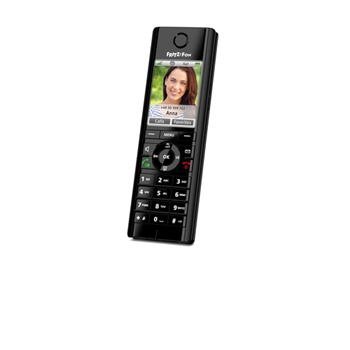AVM FRITZ!Fon C5 International Telefono DECT Nero Identificatore di chiamata