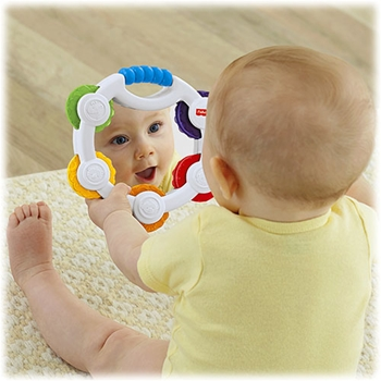 Fisher-Price Everything Baby Tamburello a Sonagli