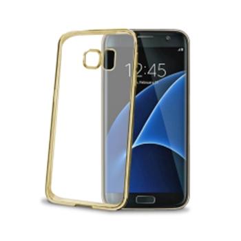 Celly Laser custodia per cellulare Cover Oro, Trasparente