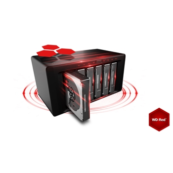 WD Red Plus 1TB SATA 6Gb/s 3.5inch 64MB cache IntelliPower Internal 24x7 optimized for SOHO NAS systems 1-8 Bay HDD Bulk