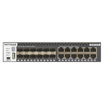 Netgear M4300-12X12F Gestito L2/L3 10G Ethernet (100/1000/10000) Nero 1U
