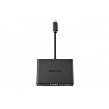 Sitecom CN-364 USB-C to USB + VGA + USB-C 3-in-1 Adapter