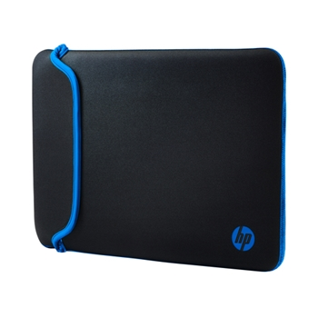 HP 14 Black/Blue Neoprene Sleeve