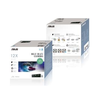 ASUS BC-12D2HT lettore di disco ottico Interno Nero Blu-Ray DVD Combo