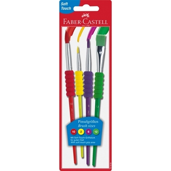 FABER CASTELL CF.4 PENNELLI SOFT(MIS 2 6 10 12)