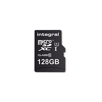 INTEGRAL INMSDX128G10-SPTOTGR Integral 128GB micro SDHC SDXC Cards C10 - Ultima Pro X+OTG Reader