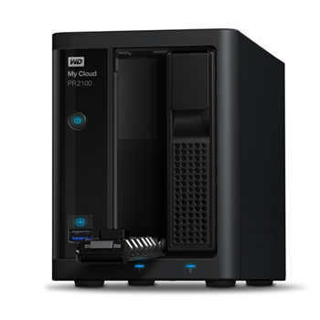 Western Digital My Cloud PR2100 Collegamento ethernet LAN Scrivania Nero NAS