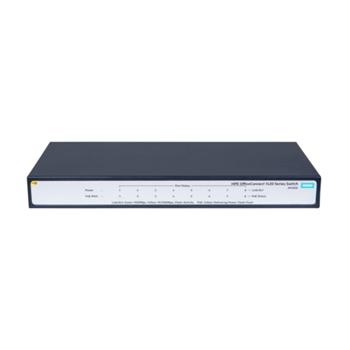 Hewlett Packard Enterprise OfficeConnect 1420 8G PoE+ (64W) Non gestito L2 Gigabit Ethernet (10/100/1000) Supporto Power over Ethernet (PoE) 1U Grigio