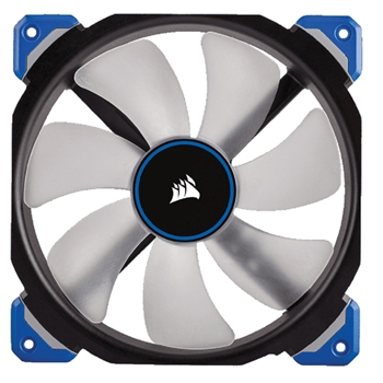 Corsair Air ML140 Pro Computer case Ventilatore 14 cm Nero, Trasparente