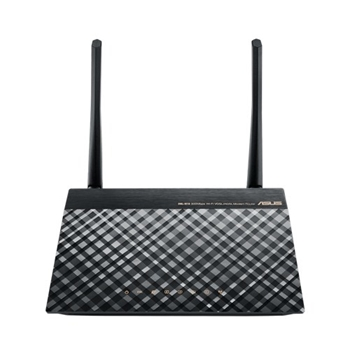 ASUS DSL-N16 router wireless Banda singola (2.4 GHz) Fast Ethernet Nero