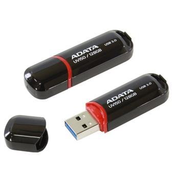 ADATA UV150 128GB USB3.0 Stick Black