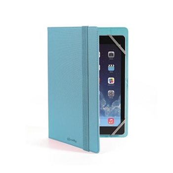 "Celly UNITAB78TF custodia per tablet 20,3 cm (8"") Custodia a libro Blu"