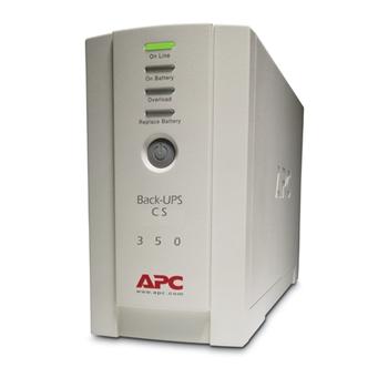 APC Back-UPS gruppo di continuità (UPS) Standby (Offline) 350 VA 210 W 4 presa(e) AC