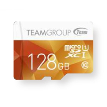 TEAM GROUP memory card Micro SDXC 128GB UHS-I +Adapter Yellow