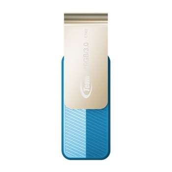 Team Group C143 unità flash USB 16 GB USB tipo A 3.2 Gen 1 (3.1 Gen 1) Blu, Oro