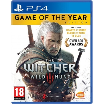 BANDAI NAMCO Entertainment The Witcher 3: Wild Hunt - Game of the Year Edition, PlayStation 4 videogioco Basic Inglese