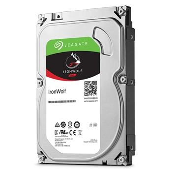 SEAGATE NAS HDD 2TB IronWolf 5900rpm 6Gb/s SATA 64MB cache 3.5inch 24x7 CMR for NAS and RAID rackmount systemes BLK