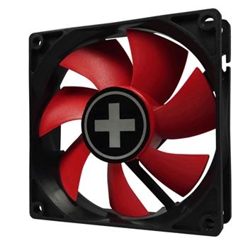 Xilence XPF92.R Computer case Ventilatore 9,2 cm Nero, Rosso