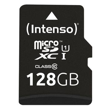 Intenso 128GB microSDXC memoria flash Classe 10 UHS-I