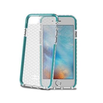 """Celly HEXAGON800TF custodia per cellulare 11,9 cm (4.7"""") Cover Turchese"""