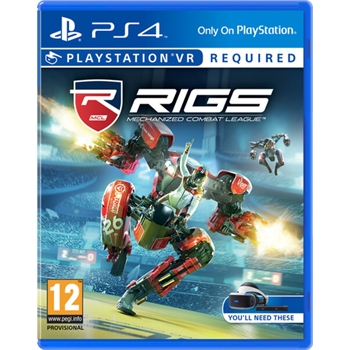 Sony RIGS Mechanized Combat League, PS4 videogioco PlayStation 4 Basic ITA