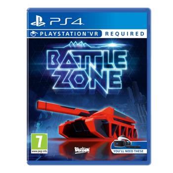 Sony Battlezone, PlayStation VR videogioco PlayStation 4 Basic Inglese