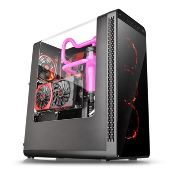 Thermaltake View 27 Midi-Tower Nero