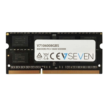 V7 8GB DDR3 1333MHZ CL9 NON ECC SO DIMM PC3-10600 1.5V