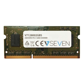 V7 V7128002GBS memoria 2 GB 1 x 2 GB DDR3 1600 MHz