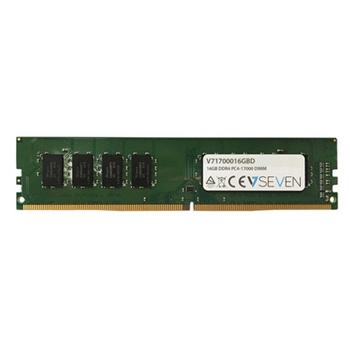 V7 16GB DDR4 2133MHZ CL15 NON ECC DIMM PC4-17000 1.2V