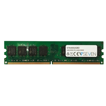 V7 2GB DDR2 800MHZ CL6 NON ECC DIMM PC2-6400 1.8V LEG