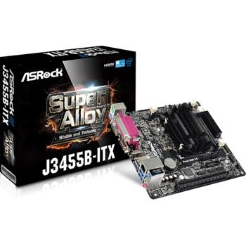 Asrock J3455B-ITX scheda madre NA (CPU integrato) Mini ITX