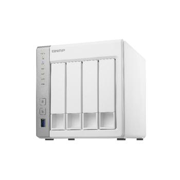 QNAP TS-431P QNAP 4-Bay TurboNAS, SATA 6G, 1,7GHz 2-Core, 1GB RAM, 2x GbE LAN, 3xUSB 3.0