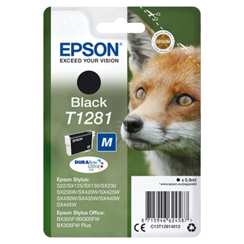 EPSON CARTUCCIA INCH.NERO TG.M VOLPE