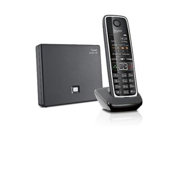 Gigaset C530A GO Telefono analogico/DECT Nero Identificatore di chiamata