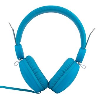 Maxell Spectrum Cuffie Padiglione auricolare Connettore 3.5 mm Blu