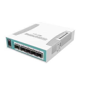 MIKROTIK CRS106-1C-5S Switch 1x RJ45 1000Mb/s 6x SFP