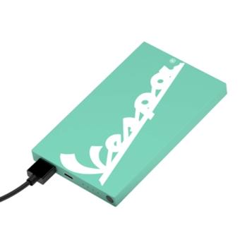 Tribe Vespa Acquamarina batteria portatile Litio 4000 mAh Turchese