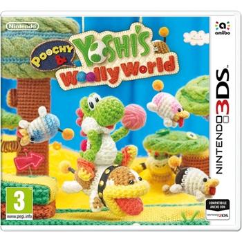NINTENDO 3DS POOCHY YOSHI WOOLY WORLD