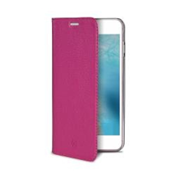 "Celly Air Pelle custodia per cellulare 14 cm (5.5"") Custodia a libro Rosa"