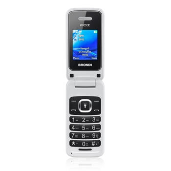 "Brondi Fox 4,5 cm (1.77"") 74 g Bianco Telefono cellulare basico"