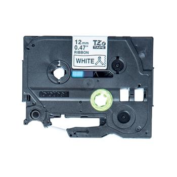 BROTHER TZe-R231 textile tape black/white 12mm/4m