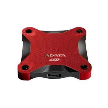 Adata SSD SD600 3D NAND, 256GB, USB 3.1, red