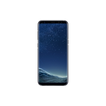 SAMSUNG CLEAR COVER BLACK S8+