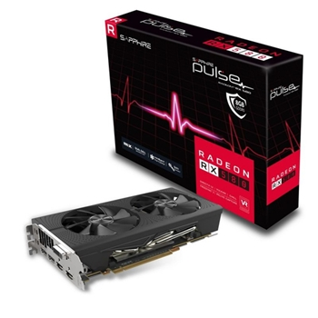 Sapphire RADEON RX 580 8GB GDDR5 PULSE AMD