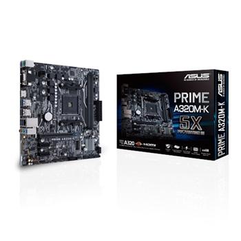 ASUS MB PRIME A320M-K scheda madre Presa AM4 Micro ATX AMD A320